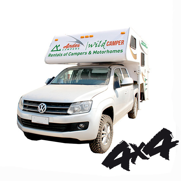 Andes Campers Rentals Of Campers And Motorhomes In Chile