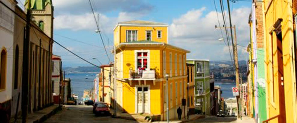 Valparaiso and Vi彨衋 del Mar - Chile - AndesCampers